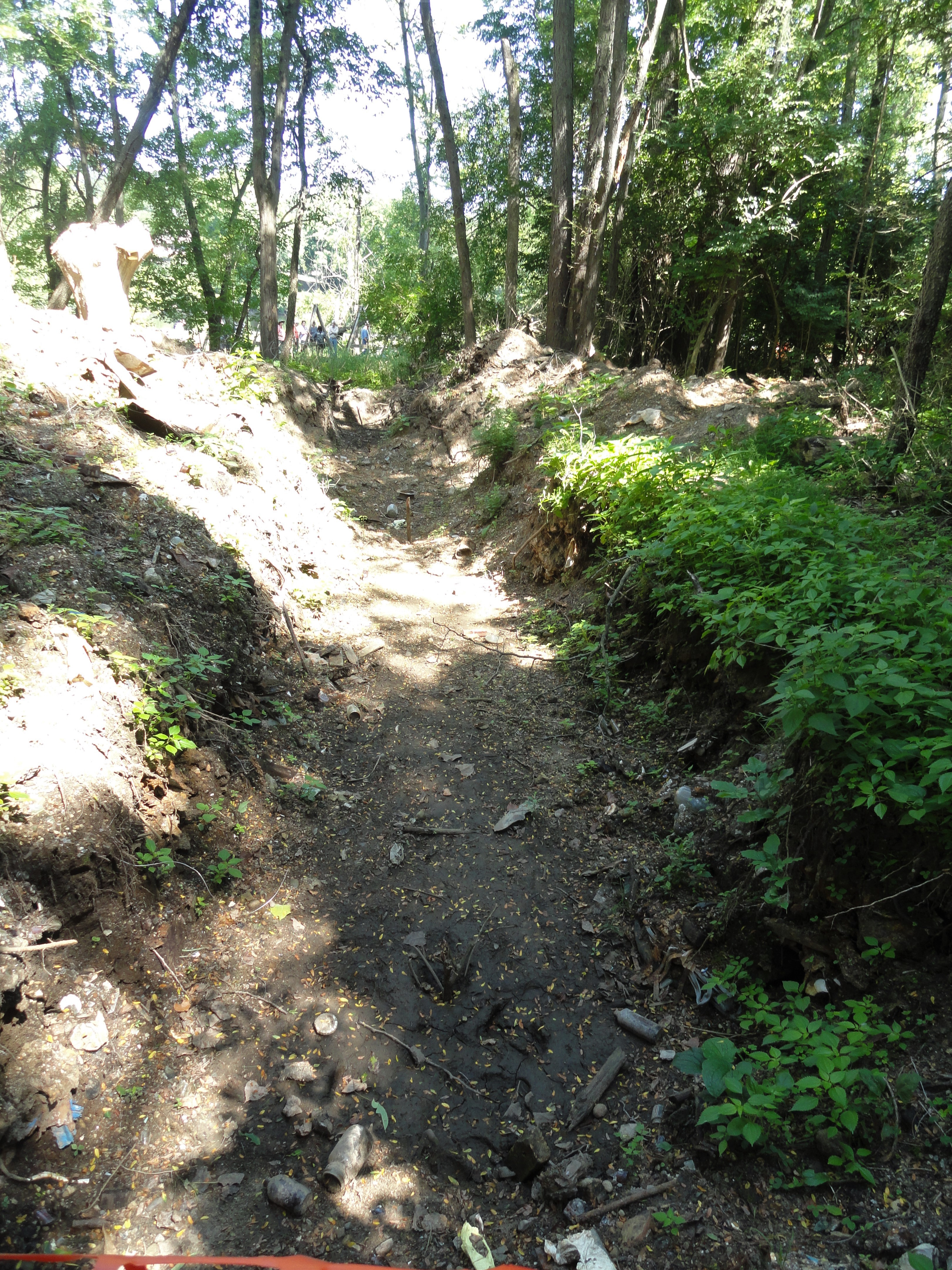 A trench dug in a 20th century landfill will make it easier for future WMU archeology students to search for artifacts.
